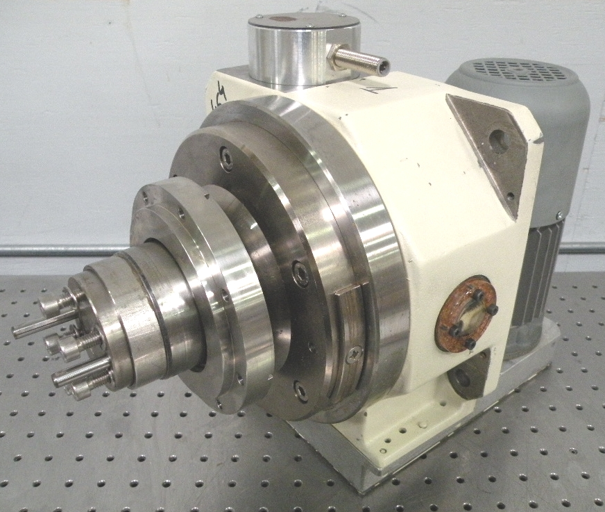 C110730 Weiss Gmbh Tc220 04 Motorized Rotary Indexing