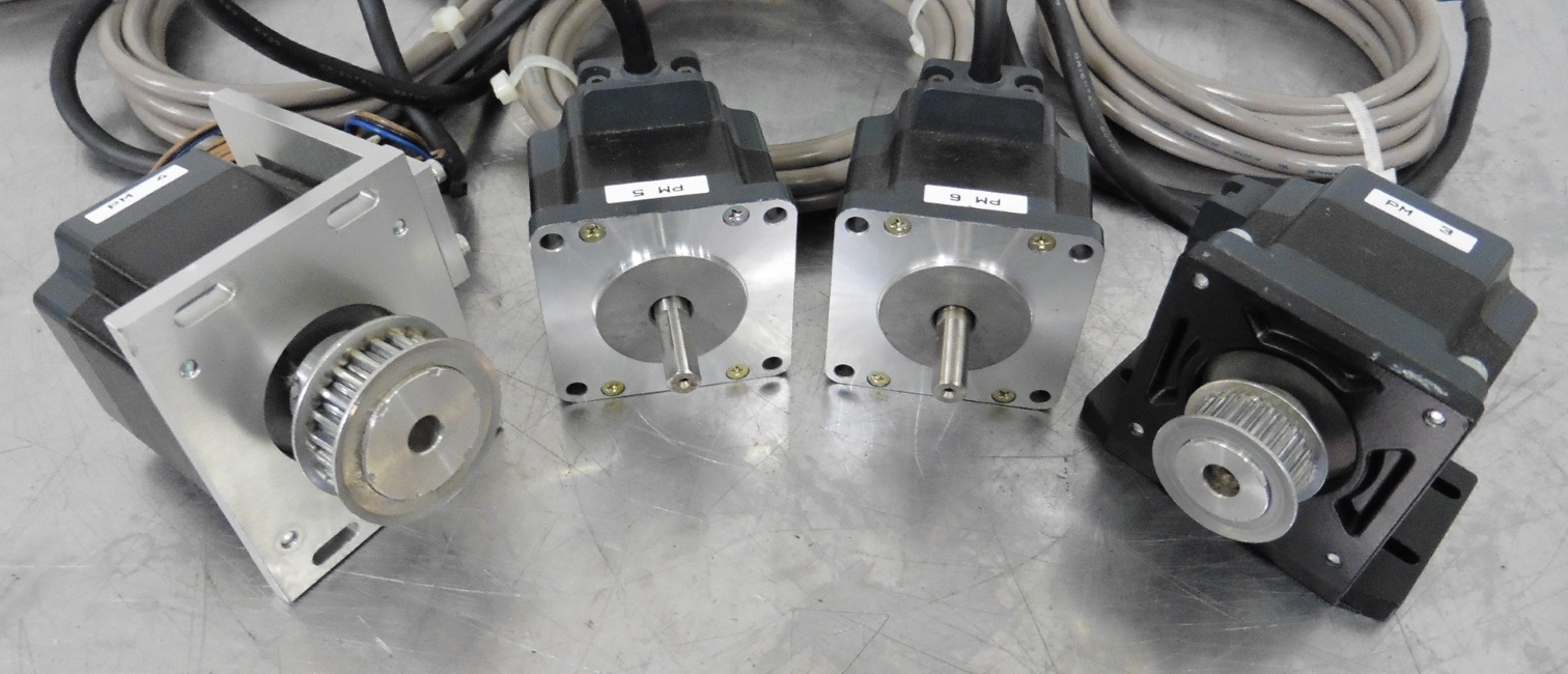 C113496 Lot 4 Vexta 5 Phase Stepping Motors W