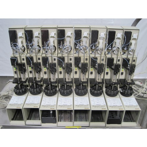 R115081 Lot (8) Zymark RapidTrace SPE Workstation