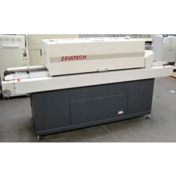 A89465 Zevatech Reflow Belt Furnace Conveyor Oven, 4 Heat Zones