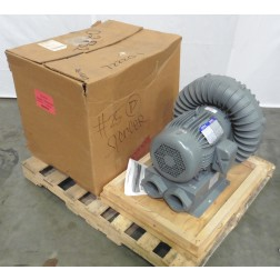 C115796 Spencer VB-075B-000 Vortex Regenerative Blower (495/412 CFM, 10/8.33 HP)