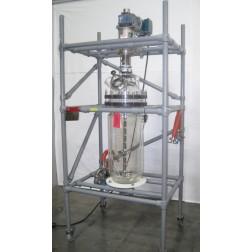 R111448 Kilolabs Sentinel Glass 50L Bio-Reactor w/ Reliance Electric Motor