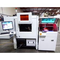 S139226 ESI Accuscribe 2600 Laser Wafer Scriber w/ Panasonic Loader